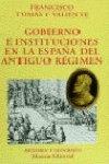 9788420679334: Gobierno e instituciones en la España del Antiguo Régimen (El Libro Universitario - Ensayo)