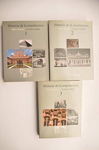 9788420679969: Historia de La Arquitectura - 3 Tomos - (Spanish Edition)