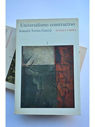 9788420679976: Universalismo constructivo. 2 vols