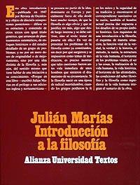 Introduccion a la filosofia/ Introduction to Philosophy (Spanish Edition): Marias Aguilera, ...