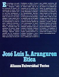 9788420680194: Etica/ Ethics (Alianza universidad. Textos) (Spanish Edition)