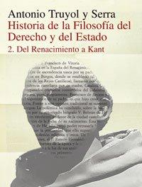 9788420680408: Historia de la filosofía del Derecho y del Estado: II. Del Renacimiento a Kant. (Alianza Universidad Textos (Aut))