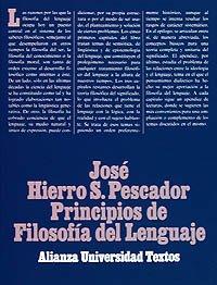 9788420681061: Principios de filosofia del lenguaje / Principles of language philosophy (Spanish Edition)
