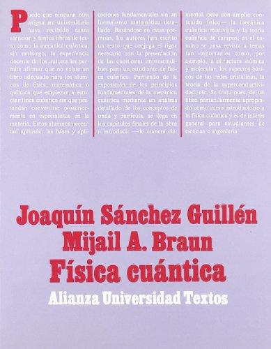 9788420681450: Física cuántica (Alianza Universidad Textos (Aut))