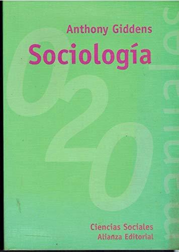Sociología. Tercera edición revisada: GIDDENS, Anthony