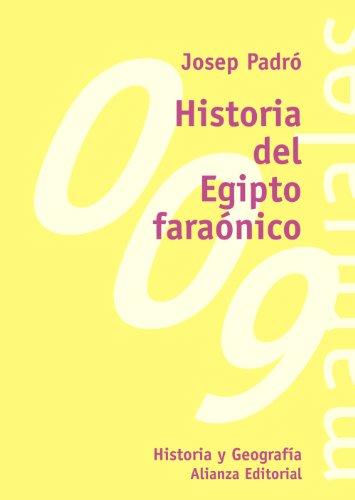 9788420681900: Historia del Egipto faraónico (El Libro Universitario - Manuales) (Spanish Edition)