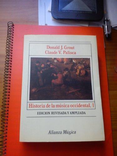 9788420685151: Historia de la musica occidental; t.1