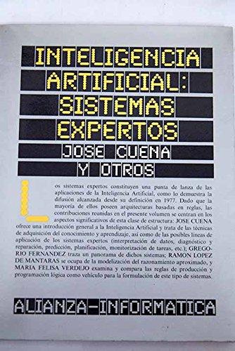 9788420686028: Inteligencia Artificial: Sistemas Expertos