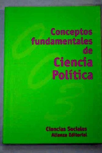 9788420686530: Conceptos Fundamentales de Ciencia Politica (Spanish Edition)