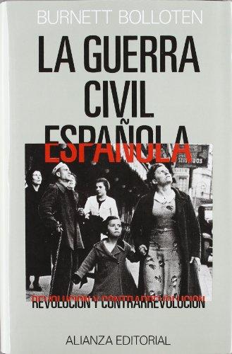 9788420687032: La Guerra Civil española: revolución y contrarrevolución (Grandes Obras De Historia)