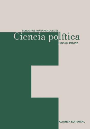 9788420687490: Conceptos fundamentales de ciencia politica / Fundamental Concepts of Political Science (Spanish Edition)