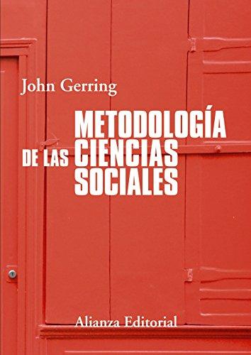 METODOLOGÍA DE LAS CIENCIAS SOCIALES: John Gerring