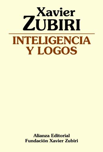 9788420690124: Inteligencia Y Logos/ Intelligence and Logos