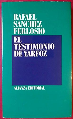 9788420690537: El testimonio de Yarfoz (Spanish Edition)
