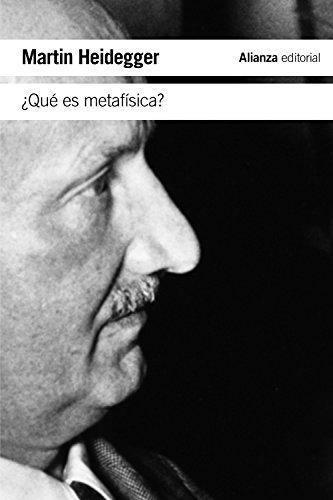 9788420691275: ¿Qué es metafísica? / What is metaphysics? (Spanish Edition)