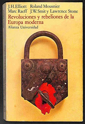 9788420692302: Revoluciones y Rebeliones de la Europa Moderna (Biblioteca Fundamental de Nuestro Tiempo)