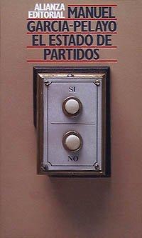 9788420695358: El Estado de partidos (Libros Singulares (Ls))