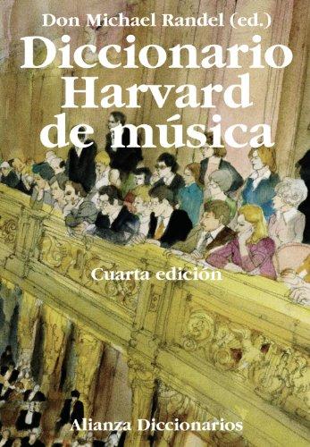 9788420697659: Diccionario Harvard de música (Alianza Diccionarios (Ad))