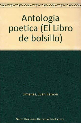 9788420698038: Antología poética (El Libro de bolsillo) (Spanish Edition)