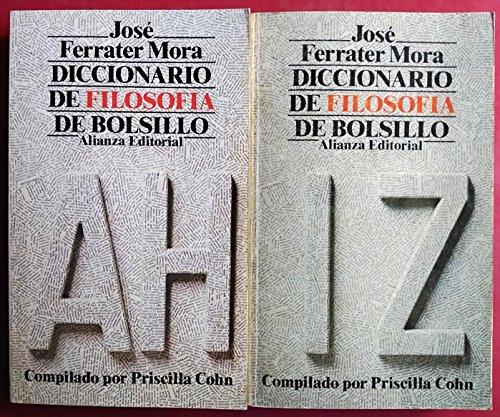 Diccionario de filosofía de bolsillo: Ferrater Mora, José;