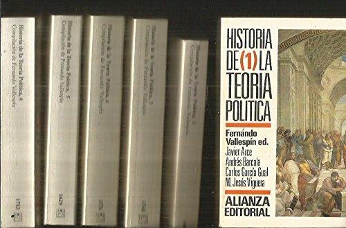9788420698335: Historia de la teoria politica
