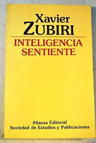 9788420699998: Inteligencia sentiente.