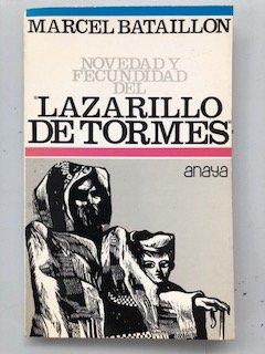 9788420709338: Novedad y Fecundidad del Lazarillo de Tormes