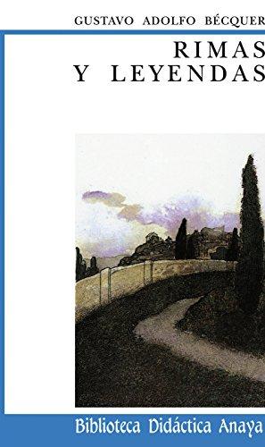 9788420725932: Rimas y Leyendas (Biblioteca Didactica Anaya) (Spanish Edition)