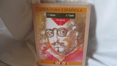 Literatura española, 2º BUP,: Lázaro Carreter, Fernando
