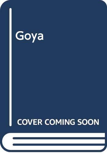 9788420737201: Goya (Spanish Edition)