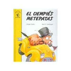 9788420756356: El ciempies metepatas: El Cienpies Metepatas (Facil de Leer/ Easy to Read)