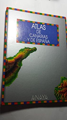 9788420766003: Atlas de comunidad de Canarias y de Espana (Spanish Edition)