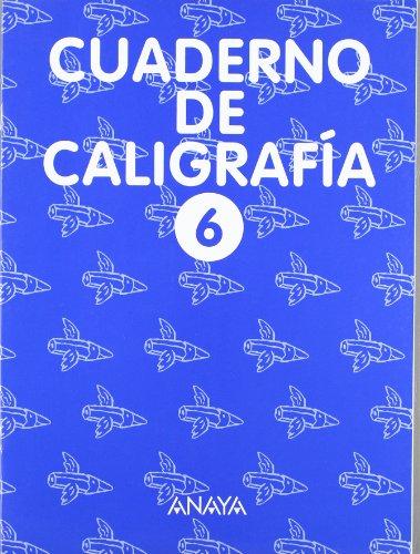 9788420794297: Cuaderno de Caligrafía 6