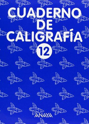 9788420794358: Cuaderno de Caligrafía 12
