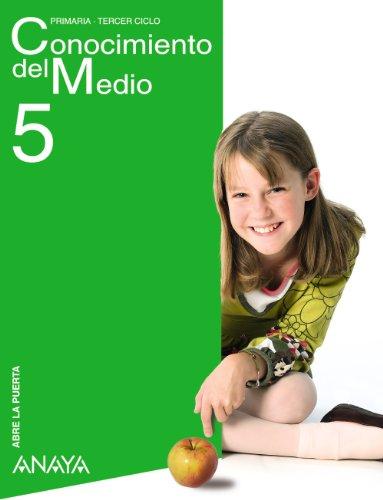 9788420796079: Conocimiento del Medio 5. (American School of Valencia) (Abre la puerta)