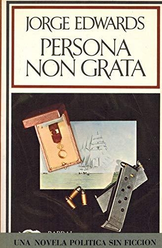 9788421102879: Persona non grata (Hispánica nova, 87) (Spanish Edition)