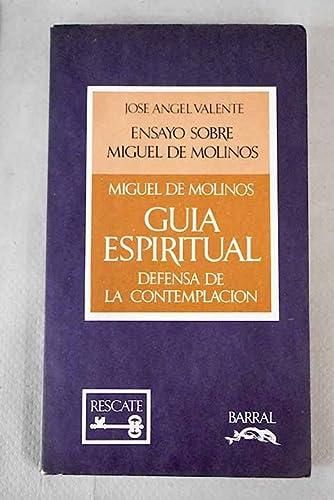 9788421108024: Gu,a espiritual seguida de la Defensa de la contemplación (Rescate textual)