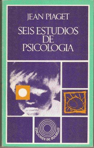 9788421170656: Seis Estudios De Psicologia