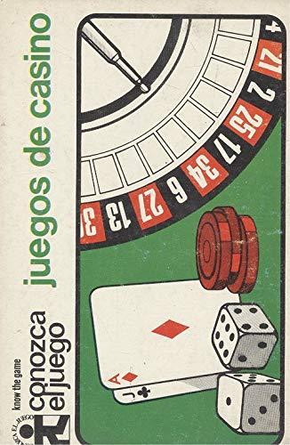 9788421402863: JUEGOS DE CASINO (CONOZCA EL JUEGO)
