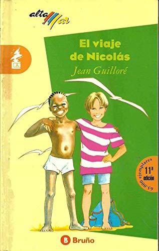 9788421609965: El viaje de Nicolas (Altamar) (Spanish Edition)