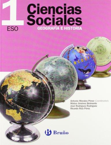 9788421622230: Ciencias Sociales Geografía e Historia 1 ESO (ESO 2007)