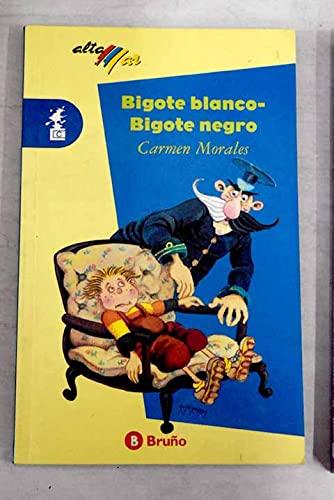 9788421628751: BIGOTE BLANCO BIGOTE NEGRO