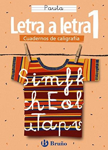 9788421634868: Letra a letra / Letter by Letter (Cuadernos de caligrafia / Calligraphy Workbook) (Spanish Edition)