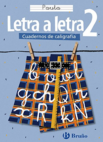 9788421634875: Letra a letra Pauta / Letter by Letter Lines (Cuadernos De Caligrafia / Calligraphy Workbook) (Spanish Edition)