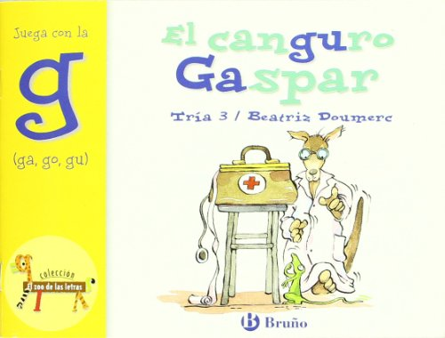 9788421635698 El Canguro Gaspar Gaspar The Kangaroo Juega Con La G Ga Go Gu Play With