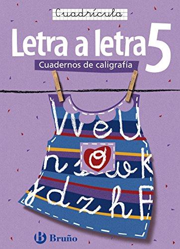Letra a letra Cuadricula / Letter by Letter Grid (Cuadernos de caligrafia / Calligraphy ...