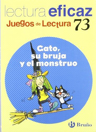 9788421639863: Gato, su bruja y el monstruo Juego Lectura (Castellano - Material Complementario - Juegos De Lectura) - 9788421639863