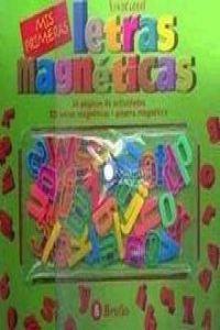 9788421641569: LETRAS MAGNETICAS - MIS PRIMERAS