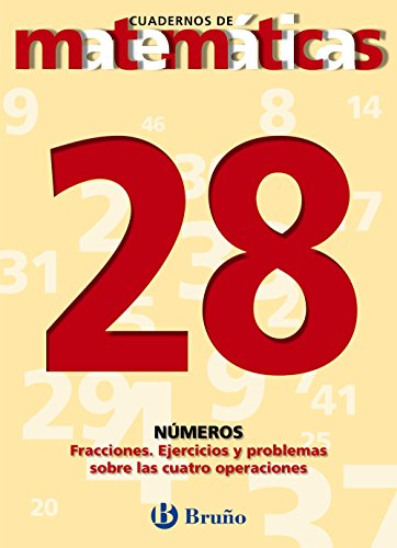 9788421642061: Fracciones ejercicios y problemas con las cuatro operaciones / Fractions Exercises and Problems with the Four Operations (Cuadernos De Matematicas) (Spanish Edition)
