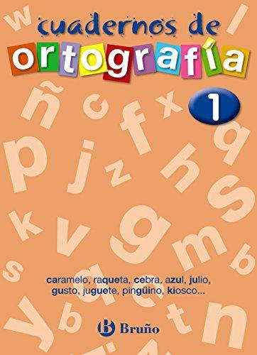 9788421643433: Cuaderno de Ortografía 1 / Spelling Workbook